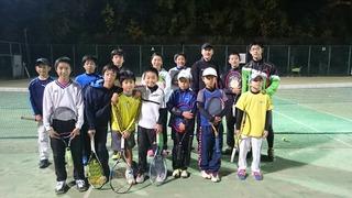 練習マッチ!マートテニスアカデミー。