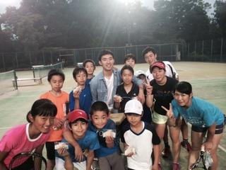 中村コーチが遊びに来てくれました!