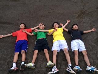4人の集中強化合宿終了!