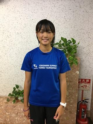 2017千葉白子ジュニアテニストーナメント秋16歳以下女子シングルス優勝