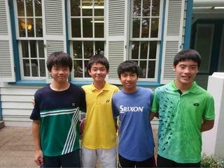 神奈川県中学生テニス大会結果報告