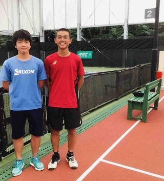関東ジュニアテニスツアーTTC大会結果報告