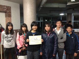 2012年神奈川県ジュニア終了!