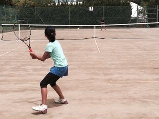 関東小学生テニス大会!前日練習。