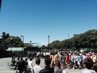 全国選抜ジュニアテニス選手権!