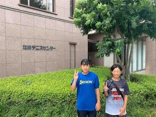 全日本ジュニアテニス選手権大会2019結果報告