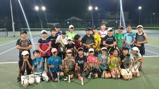 狛江インドアATPジュニアチーム練習マッチ