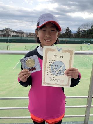 全国選抜ジュニアテニス選手権神奈川県予選大会201912歳以下第3位