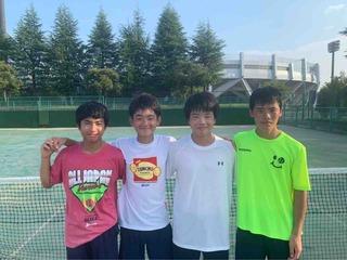 2019年度関東中学生テニス選手権大会結果報告