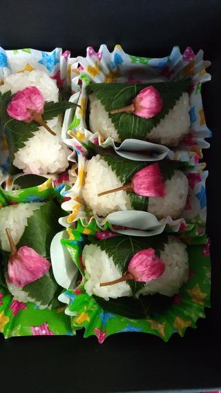 レニックス八重桜で作った桜ご飯!