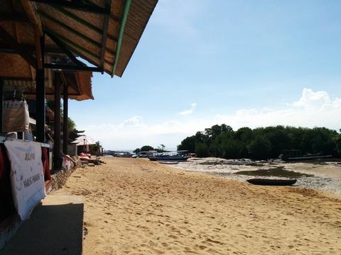 LOAビーチ前