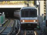 東京メトロ01系電車(渋谷駅にて、'16.12.24撮影)