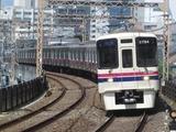 京王電鉄9000系電車(京王多摩川駅にて、'18.07.29撮影)