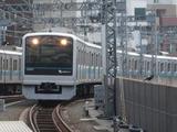 小田急電鉄3000形電車(登戸駅にて、'17.03.18撮影)