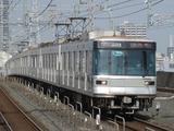 東京メトロ03系電車(新越谷駅にて、'16.12.04撮影)