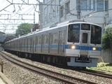 小田急電鉄2000形電車('18.07.01撮影)