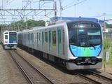 西武鉄道6000系・40000系(秋津駅にて、'17.06.03撮影)