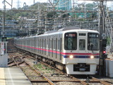 京王電鉄9000系電車(若葉台駅にて、'18.10.06撮影)