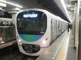 西武鉄道30000系電車(高田馬場駅にて、'17.01.31撮影)