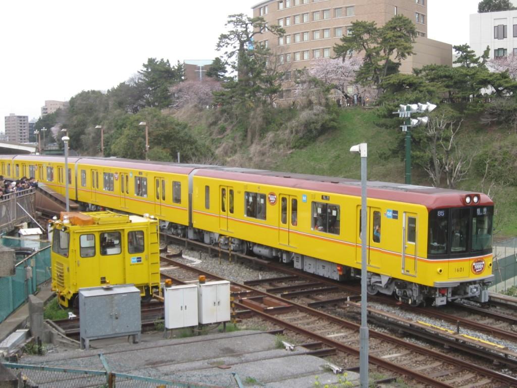 東京メトロ1000系 営業運転を撮る Part1(2012/04/17) : トイレ探索 ...