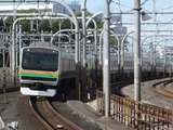 JR東日本E231系電車(赤羽駅にて、'17.11.11撮影)