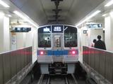 小田急電鉄1000形電車(新宿駅にて、'18.07.07撮影)