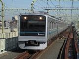 小田急電鉄3000形電車(登戸駅にて、'16.11.25撮影)