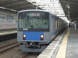 西武鉄道20000系電車(秋津駅にて、'16.09.24撮影)