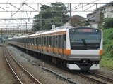 JR東日本E233系電車(西国分寺駅にて、'16.10.08撮影)