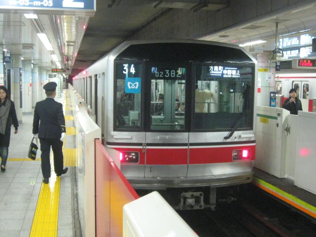 東京メトロ「1000系試乗列車」を撮りに行く(2012/04/07) : トイレ ...