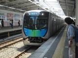 西武鉄道40000系電車(秋津駅にて、'18.06.02撮影)