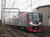 京王電鉄新5000系電車(多磨霊園-東府中間にて、'18.01.05撮影)