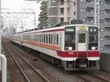 東武鉄道6050系電車(五反野駅にて、'15.01.29撮影)