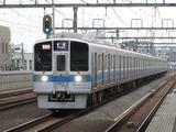 小田急電鉄1000形電車(祖師ヶ谷大蔵駅にて、'17.08.12撮影)
