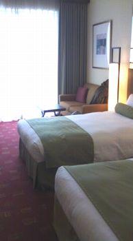 新都ホテルの部屋