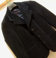 黒ベロアジャケット