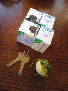 忘れ物と鍵