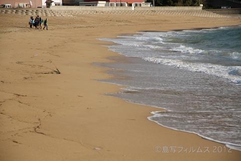 ウミガメ隊_早朝清掃_篠島小学校_2012-10-10 07-39-10