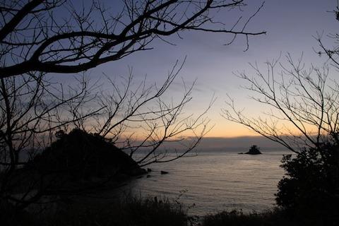 島写_松島の夕日2011-03-05 17-59-40