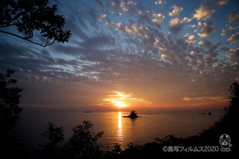 松島の夕日_歌碑公園_2020-11-06_16-40-01