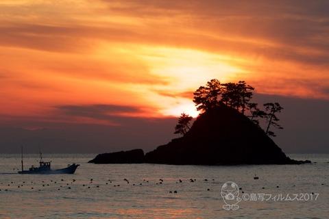 松島の夕日_2017-12-07_16-36-13