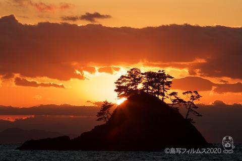 松島の夕日_汐味海岸_2020-12-21_16-36-30
