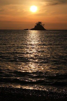 島写_松島の夕日2011-03-05 17-21-57
