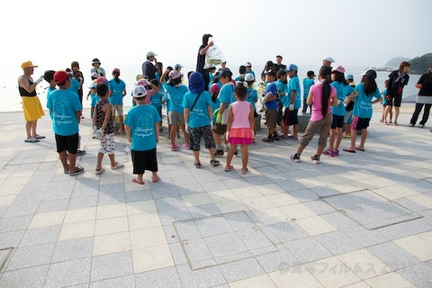 篠島ウミガメ隊クリーンアップ大作戦2012-07-25 07-31-46