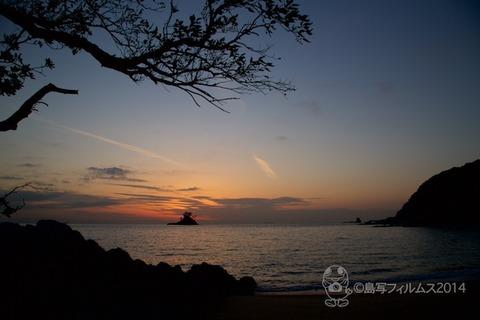 松島の夕日_歌碑公園_汐味_2014-12-10_16-41-54