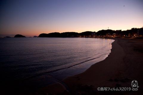 松島の夕日_歌碑公園_2019-11-05_17-12-21