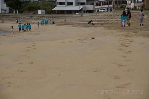 ウミガメ隊_クリーンアップ大作戦_2012-08-29 07-45-57