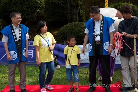 名古屋城篠島矢穴石式典_おもてなし武将隊_2012-09-23 13-28-29
