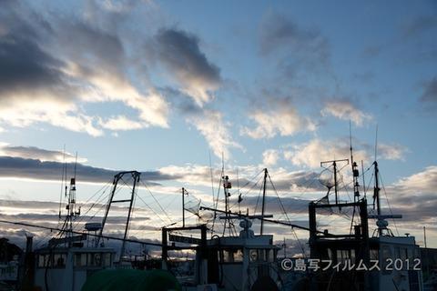 漁港_夕日_篠島_風景_写真_2012-05-04 17-59-51