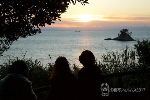 松島の夕日_2017-11-21_16-28-24